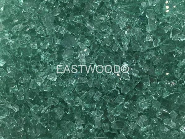 Jade Green Fire Glass