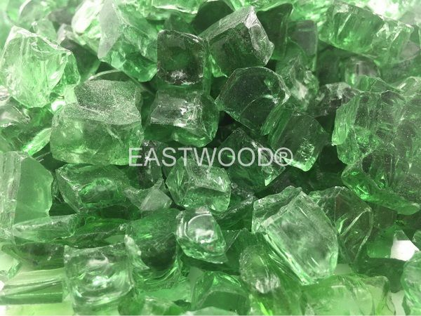 Emerald green Fire Glass-